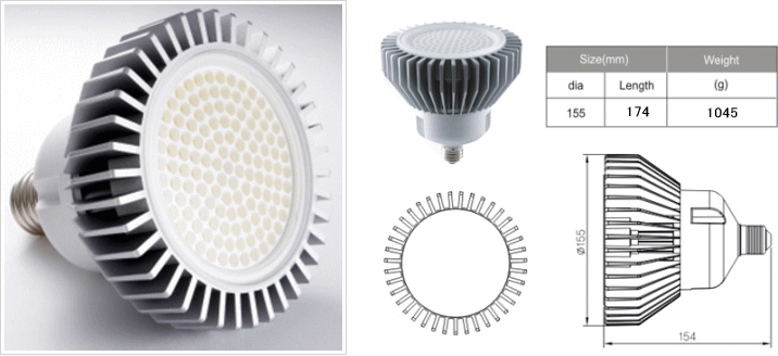 PAE30 LED LAMP